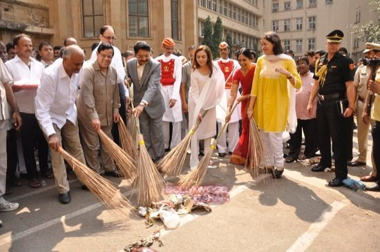 Nita cleanliness campaign-4