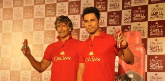 Milind Soman and Randeep Hooda at Old Spice event – Photos / Video