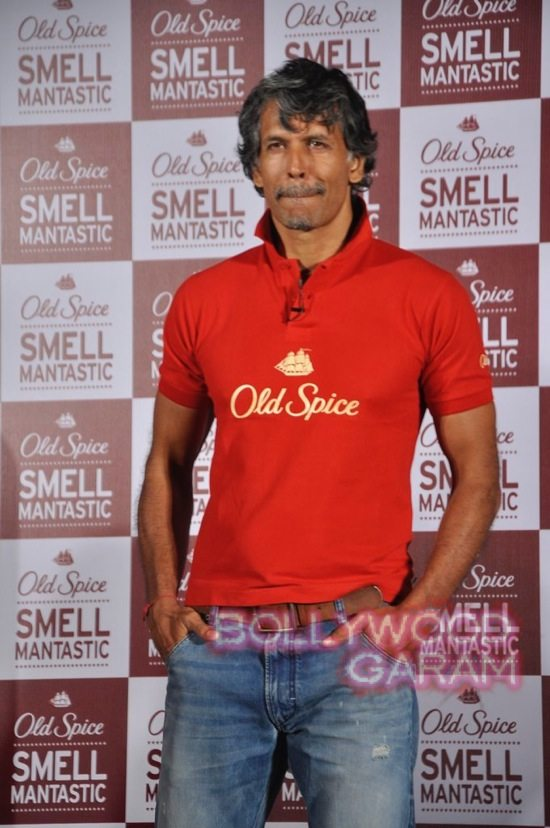 Old Spice Event Milind and Randeep-2