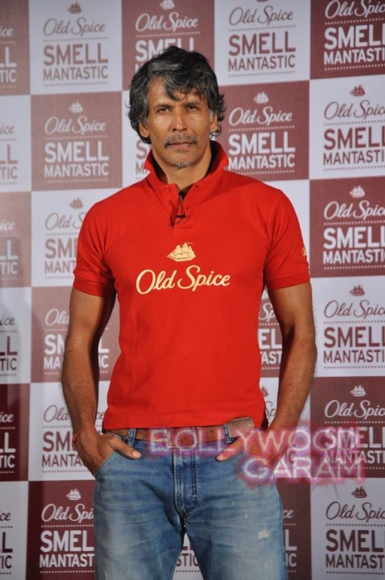 Old Spice Event Milind and Randeep-3