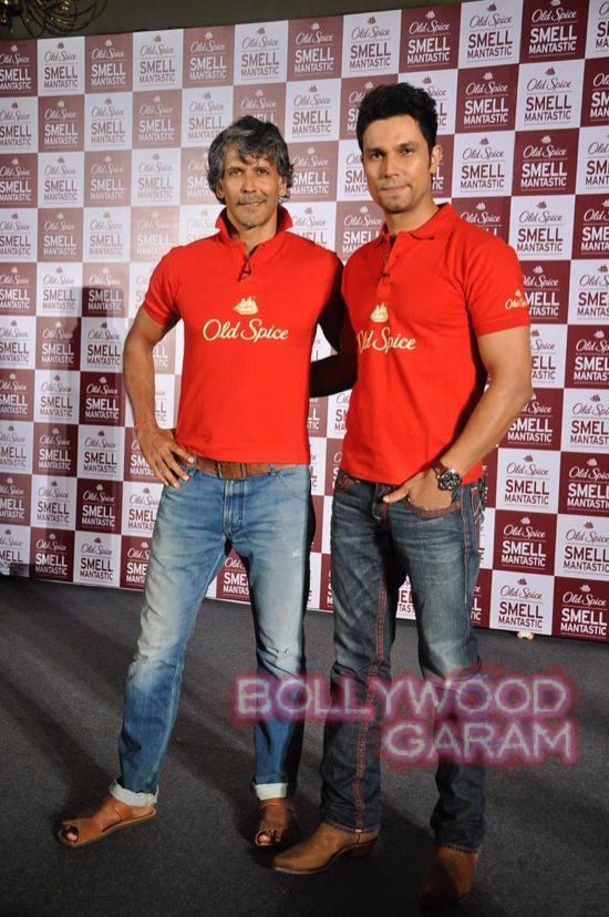 Milind Soman and Randep Hooda