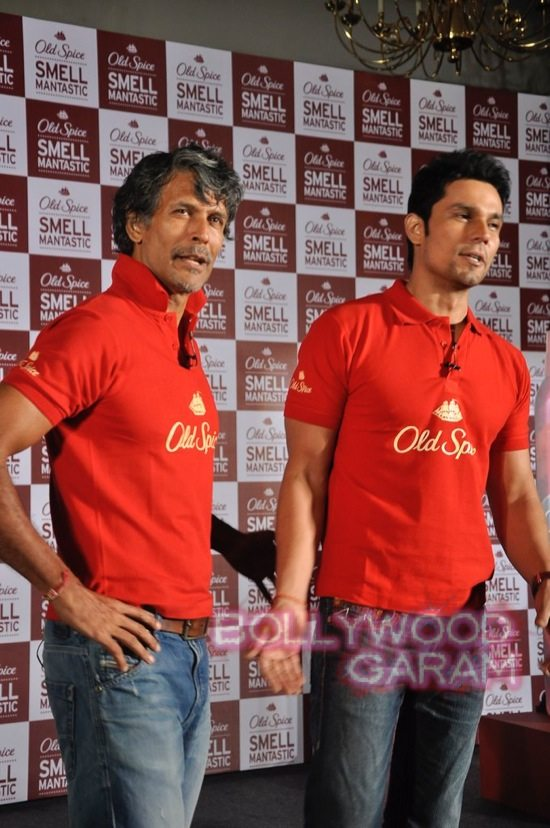 Old Spice Event Milind and Randeep-6