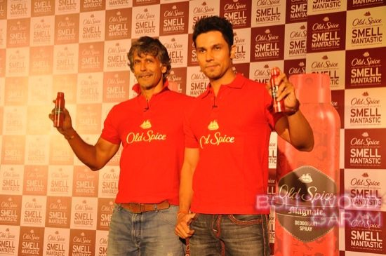 Old Spice Event Milind and Randeep-7