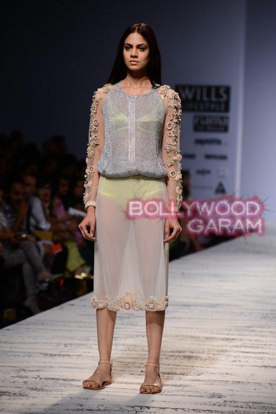 Wills Lifestyle India Fashion Week 2014 Photos Pallavi