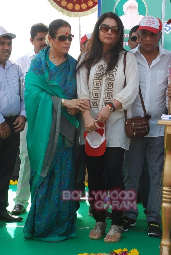 Poonam dhillon and sinha_mega cleanlinessdrive_Mumbai-3