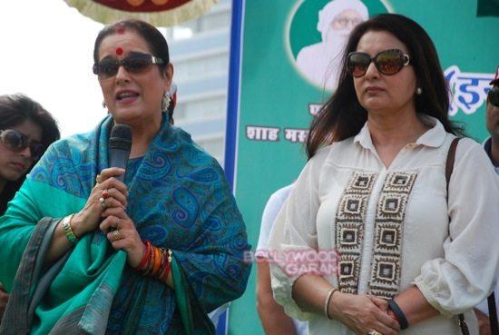 Poonam dhillon and sinha_mega cleanliness drive_Mumbai-6