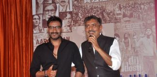 Ajay Devgn and Arshad Warsi launch Prakash Jha's upcoming movies