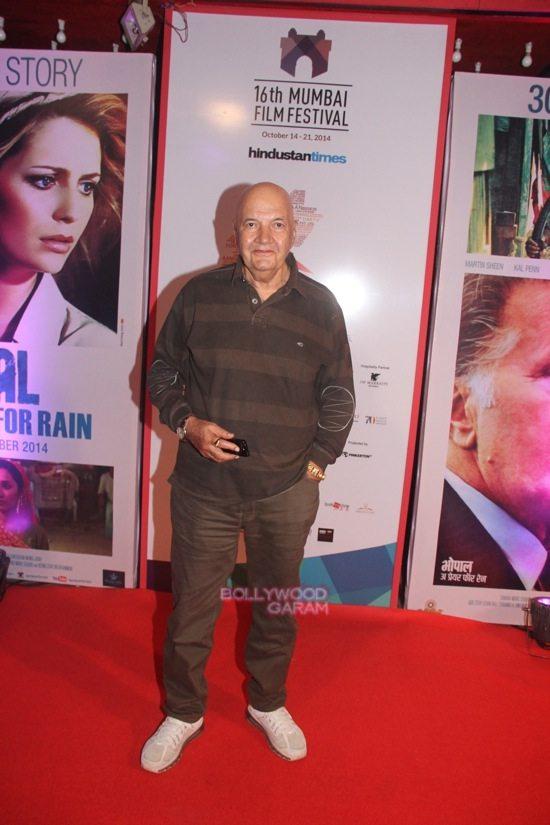 Prem Chopra at Day 7 of 16th Mumbai Film Festival (MAMI)-1