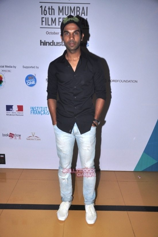 Rajkumar Rao at Day 7 of 16th Mumbai Film Festival (MAMI)-1