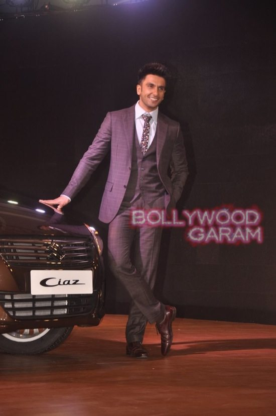 Ranveer Singh launches Maruti Ciaz-1