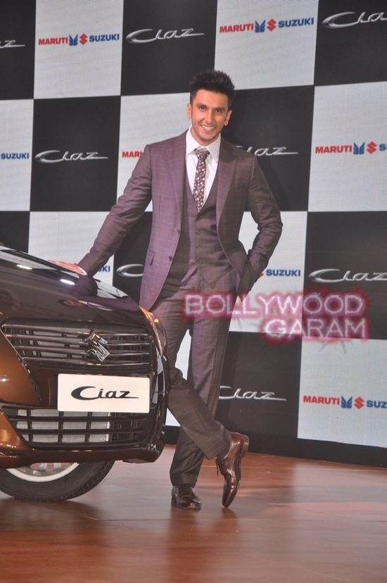 Ranveer Singh launches Maruti Ciaz-2