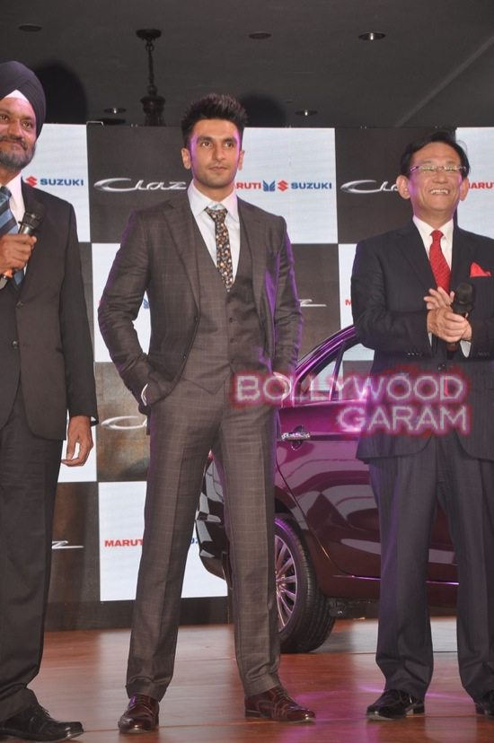Ranveer Singh launches Maruti Ciaz-4