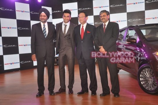 Ranveer Singh launches Maruti Ciaz-5