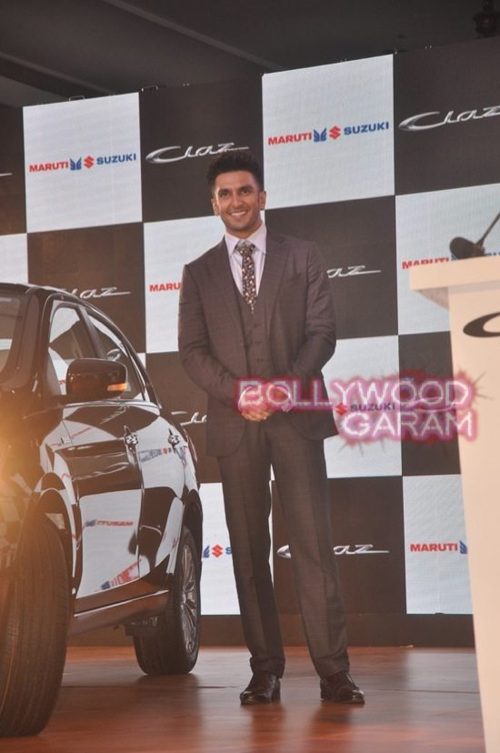 Ranveer Singh launches Maruti Ciaz-9