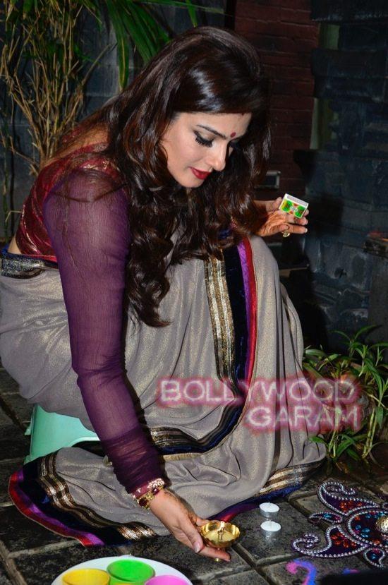 Raveena Tandon Diwali-1