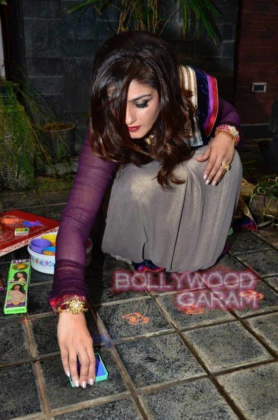 Raveena Tandon Diwali-2