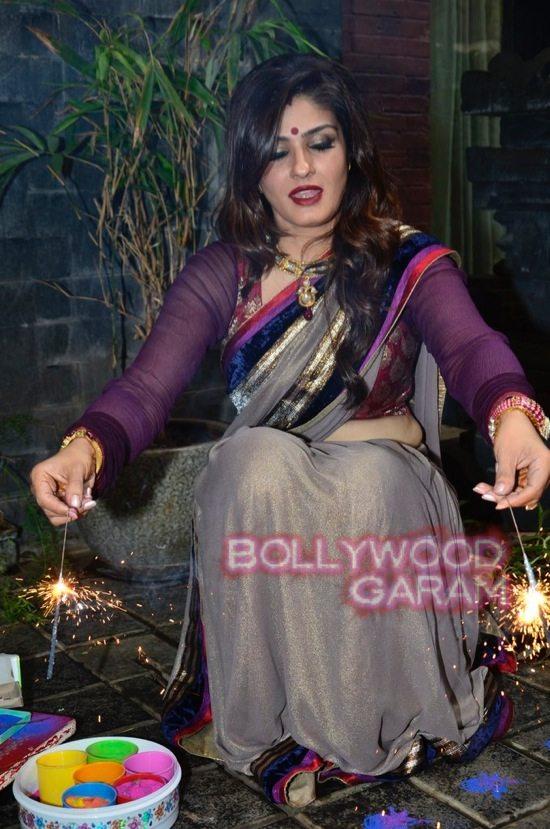 Raveena Tandon Diwali-4