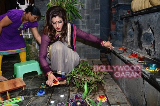 Raveena Tandon Diwali-5