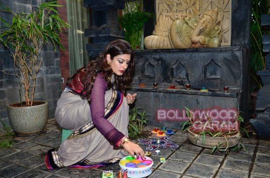 Raveena Tandon Diwali-6