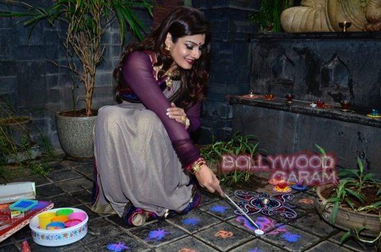 Raveena Tandon Diwali-7