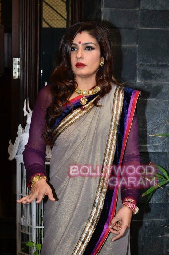 Raveena Tandon Diwali