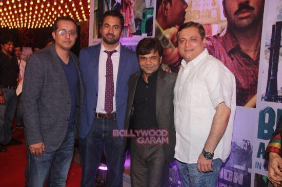 Ravi Walia, Producer, Kal Penn, Rajpal Yadav, Manoj Joshi at the launch of the trailer Bhopal  A prayer for Rain at Day 7 of 16th Mumbai Film Festival (MAMI)-1