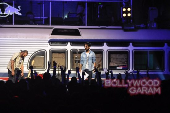 Redbull Tour Bus in Mumbai-9