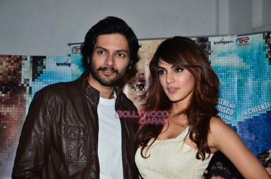 Rhea and Ali Fazal promote Sonali Cable-2