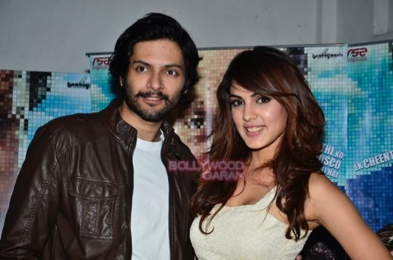 Rhea and Ali Fazal promote Sonali Cable-3