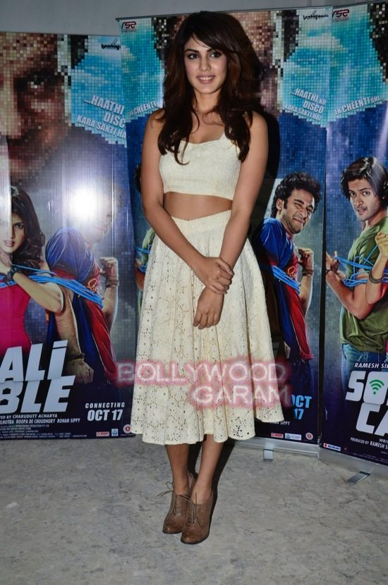 Rhea and Ali Fazal promote Sonali Cable-4