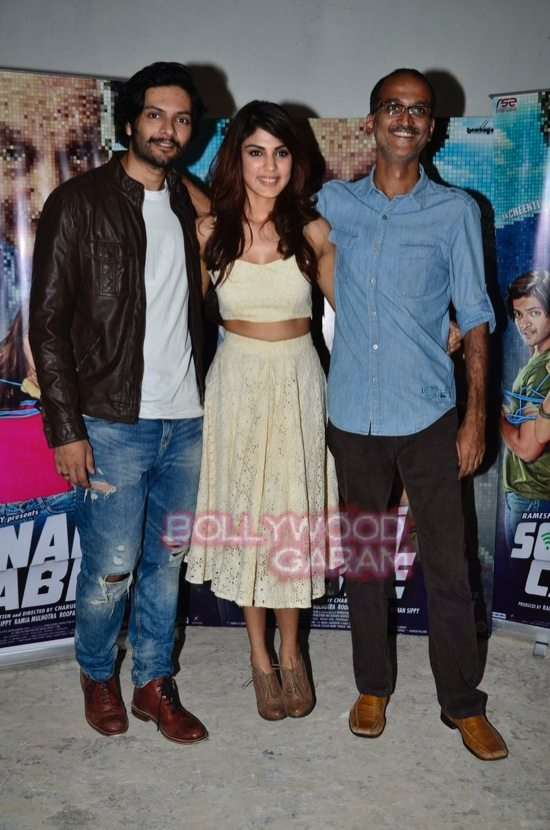 Rhea and Ali Fazal promote Sonali Cable-6