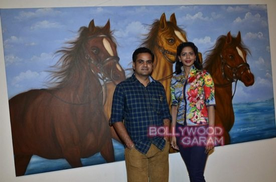 Rishi Kapoor art exhibition-4