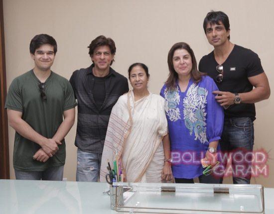 SRK Mamata Banerjee HNY