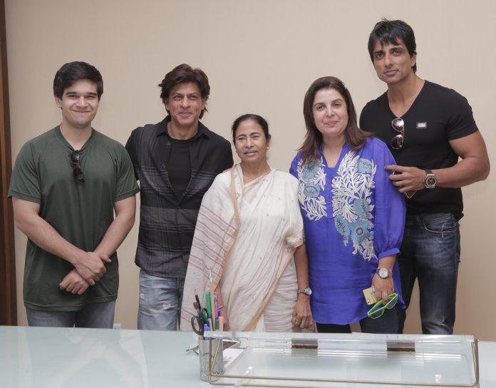 SRK with Mamata Banerjee