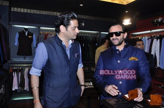 Saif Ali Khan launches mens jewellery store-1