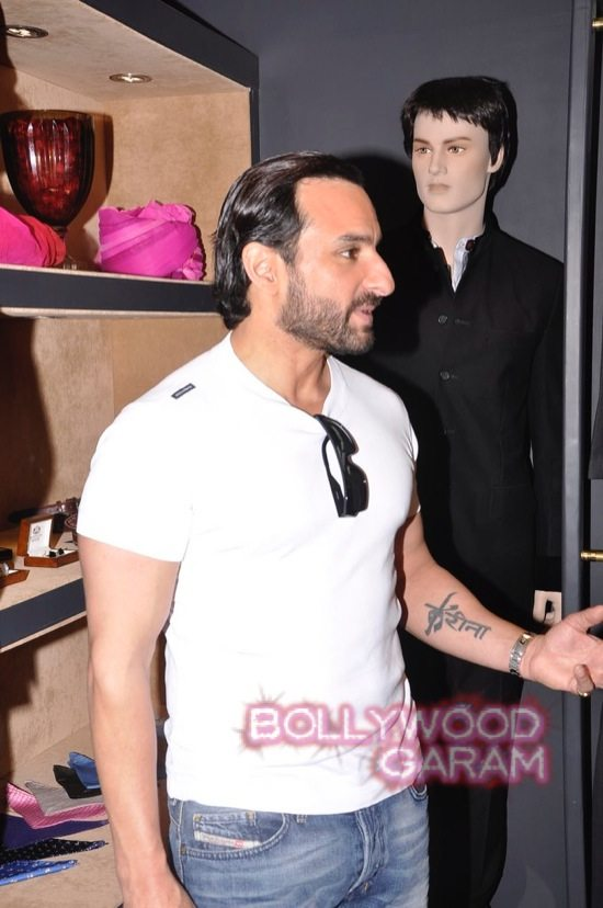 Saif Ali Khan launches mens jewellery store-10