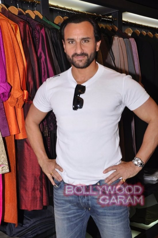 Saif Ali Khan launches mens jewellery store-11