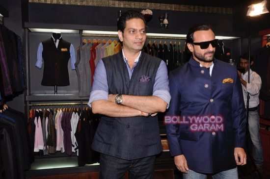 Saif Ali Khan launches mens jewellery store-2
