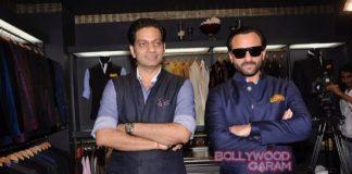 Saif Ali Khan launches Raghavendra Rathore's men's jewellery range