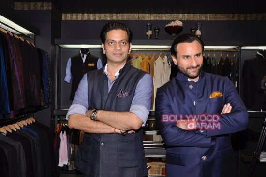 Saif Ali Khan launches mens jewellery store-4