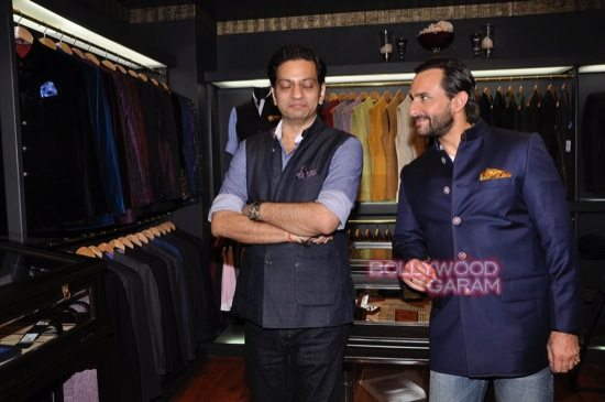 Saif Ali Khan launches mens jewellery store-5