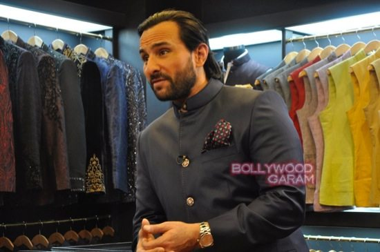 Saif Ali Khan launches mens jewellery store-7