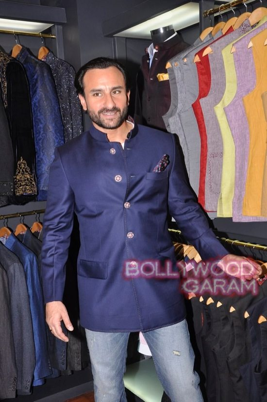 Saif Ali Khan launches mens jewellery store-8