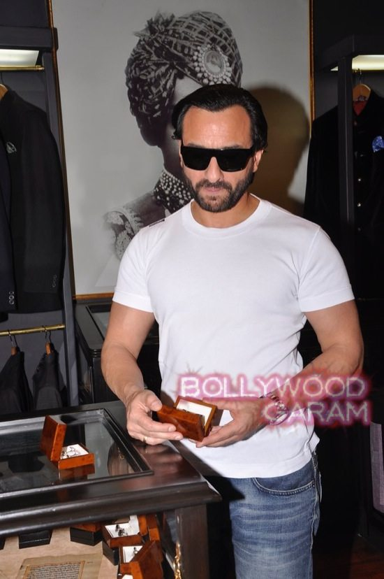 Saif Ali Khan launches mens jewellery store-9