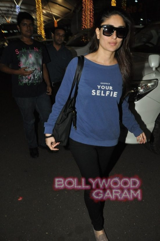 Saif ali khan and Kareena kapoor at airport-3