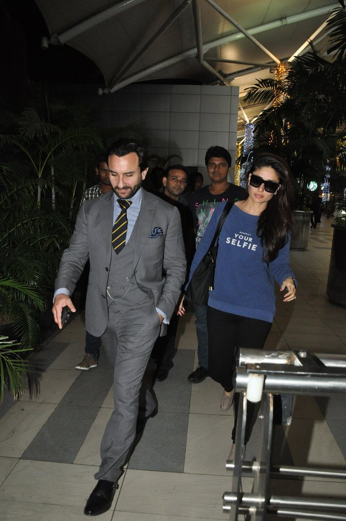 Saif kareena snapped