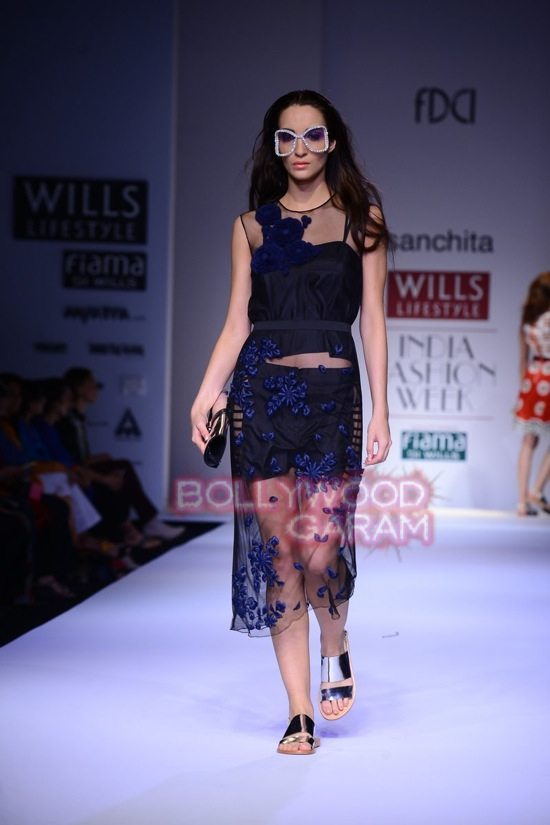 Sanchita_collection Wills Lifestyle India Fashion Week 2015