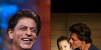 Shah Rukh Khan shares picture of son AbRam with fans