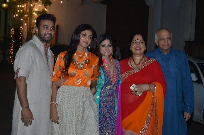 Shilpa Diwali bash