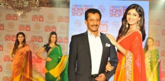 Shilpa Shetty launches SSK line of saris